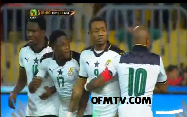 Watch Egypt vs Ghana - World Cup Qualifiers 2018