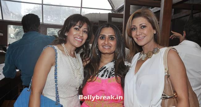 Sayeeda Jaffery and Rukshana with Friend