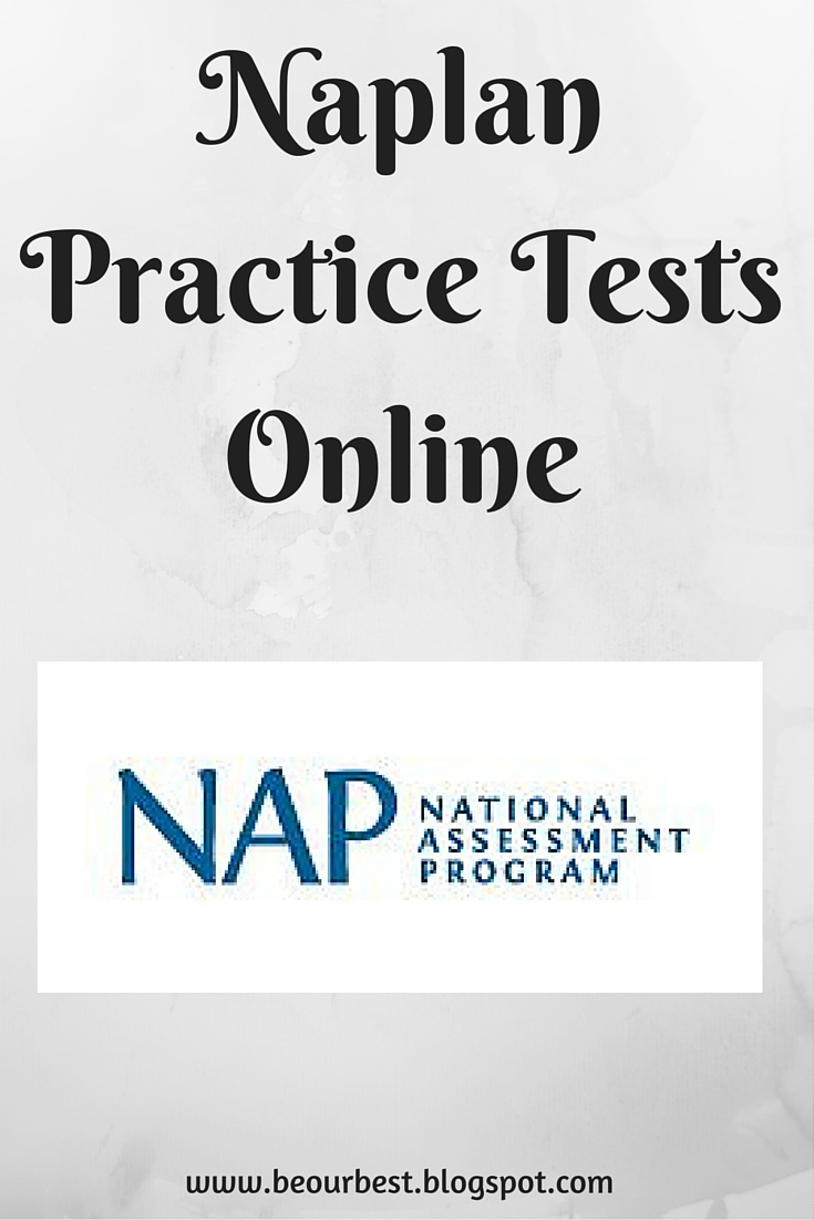 Be Our Best: Naplan practice tests online