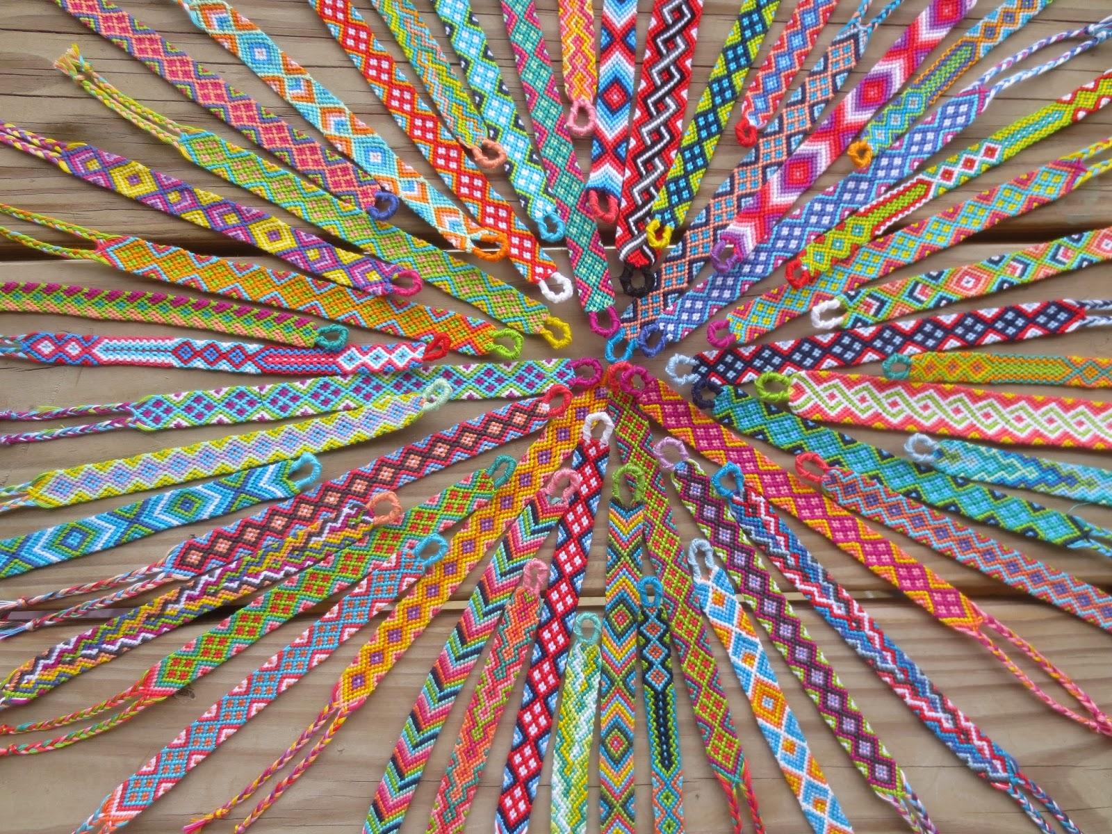 Diamonds Friendship Bracelet Images