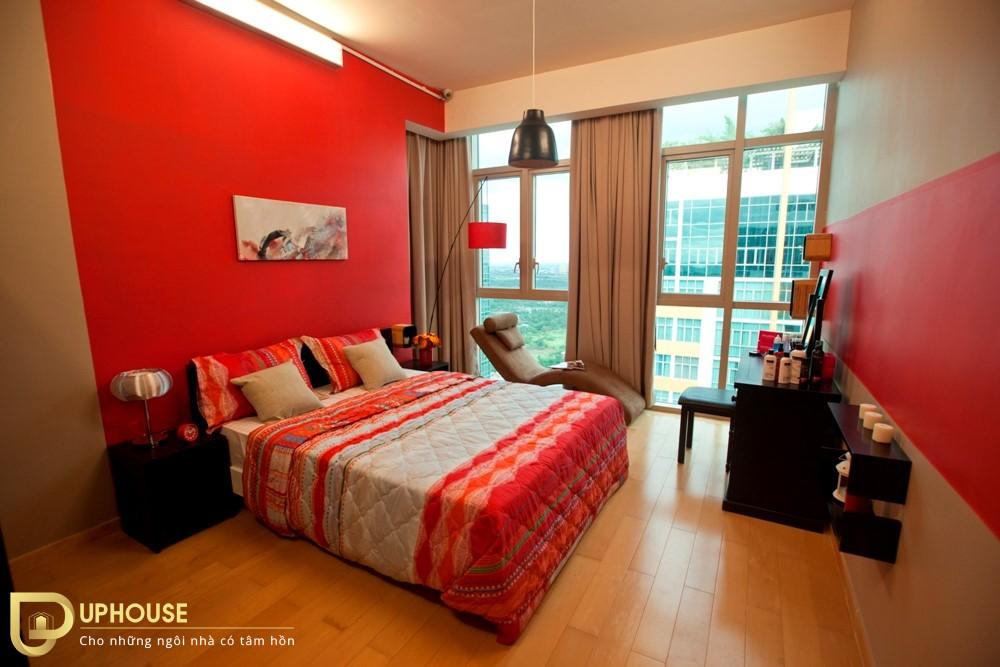 Màu sơn phòng ngủ mệnh Hỏa 03