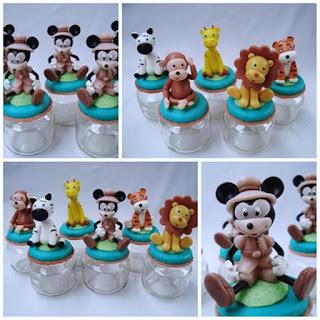 Mickey Safari em Biscuit