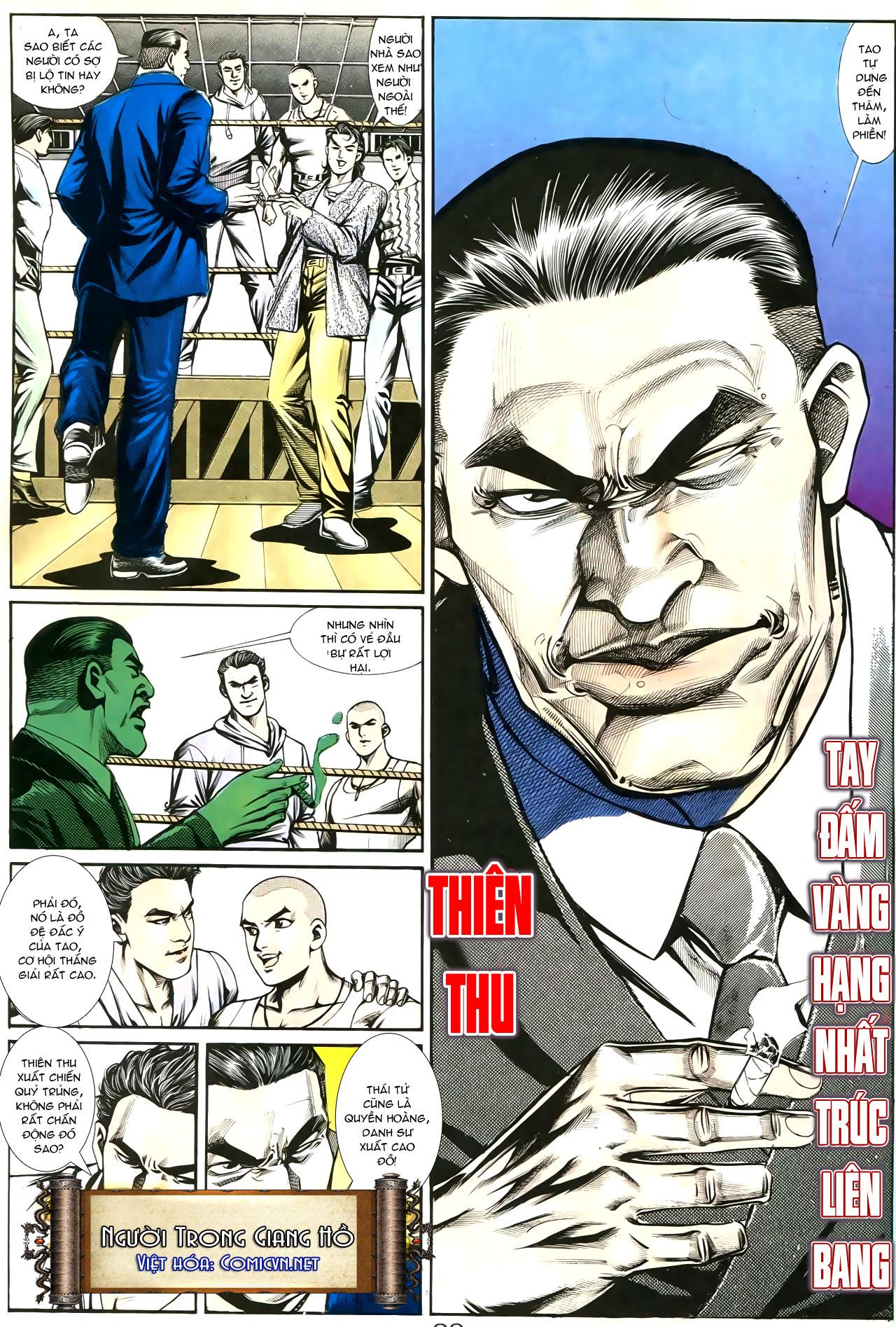 Người Trong Giang Hồ chapter 193: mưu kế đầy bụng trang 6