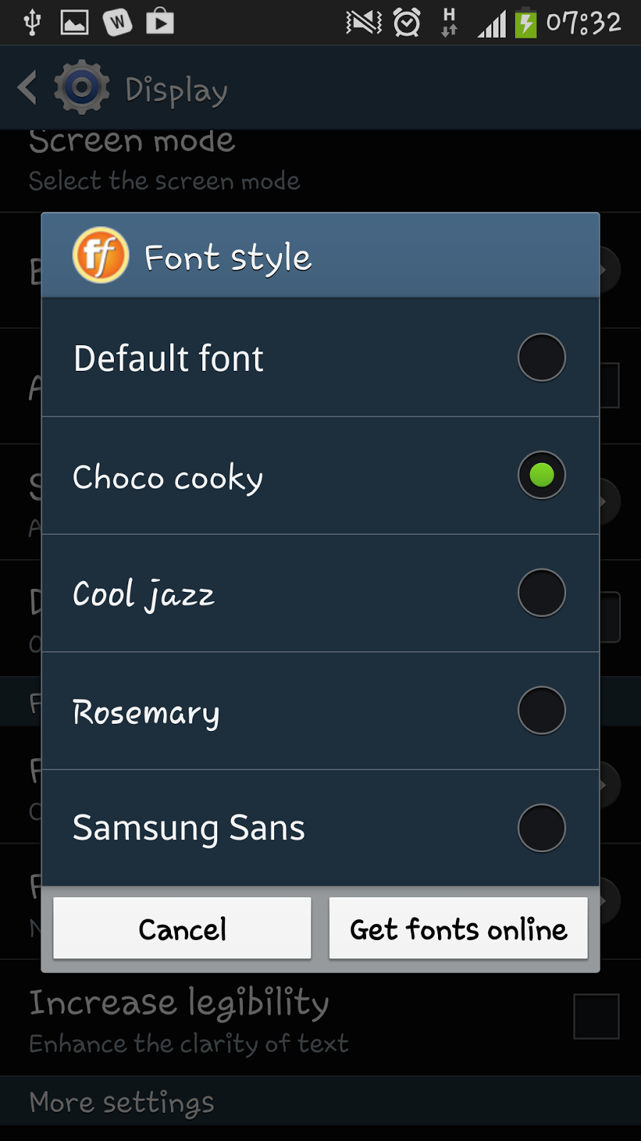 Mobile Phone Tips and Tricks How to change the font style on a