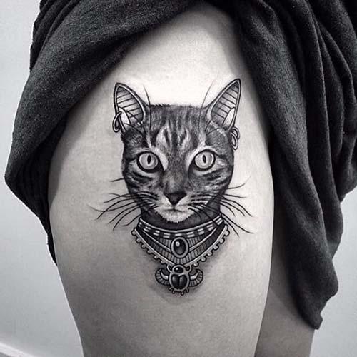 kedi dövmeleri cat tattoos 55