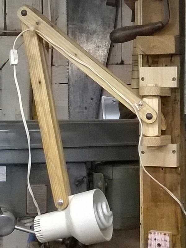 The Wood Knack Swing Arm Task Lamp