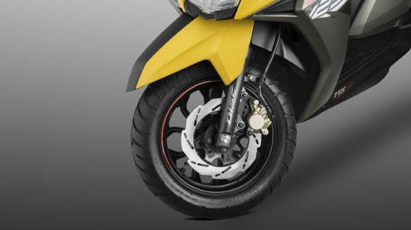 TVS Ntorq 125 front wheel disck breack