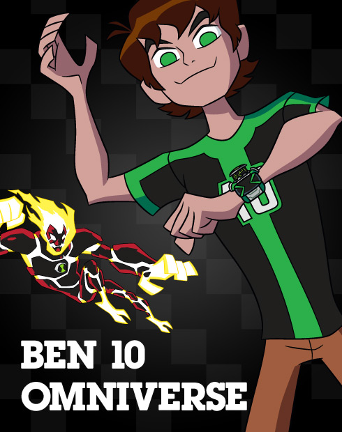 Ben 10 Omniverse Heroes del espacio (2014)