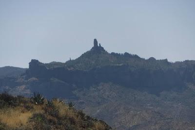 Roque Nublo visto da Artenara