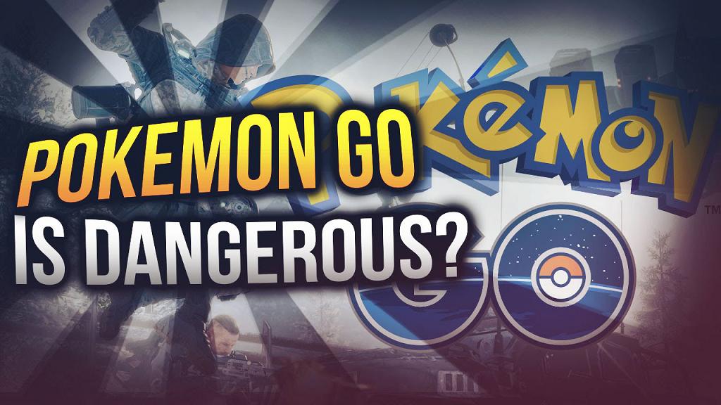 Pokemo Go(精靈寶可夢)是個危險的遊戲嗎?