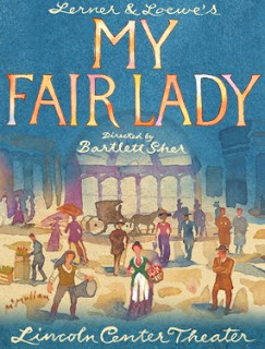 "poster for ""My Fair Lady"""