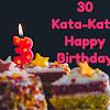 30 Kata-kata Ucapan Ulang Tahun Singkat Terbaru