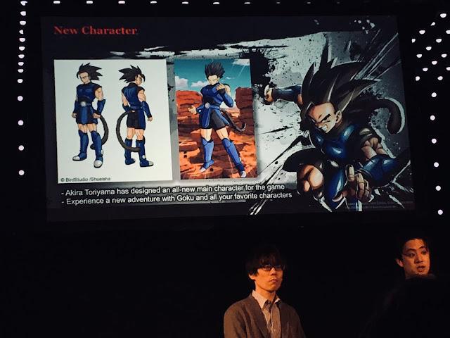 Dragon Ball Legends akira toriyama new character