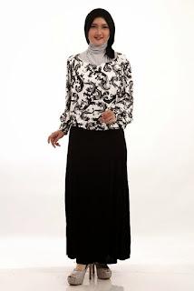 Koleksi Baju Batik Muslim Terbaru