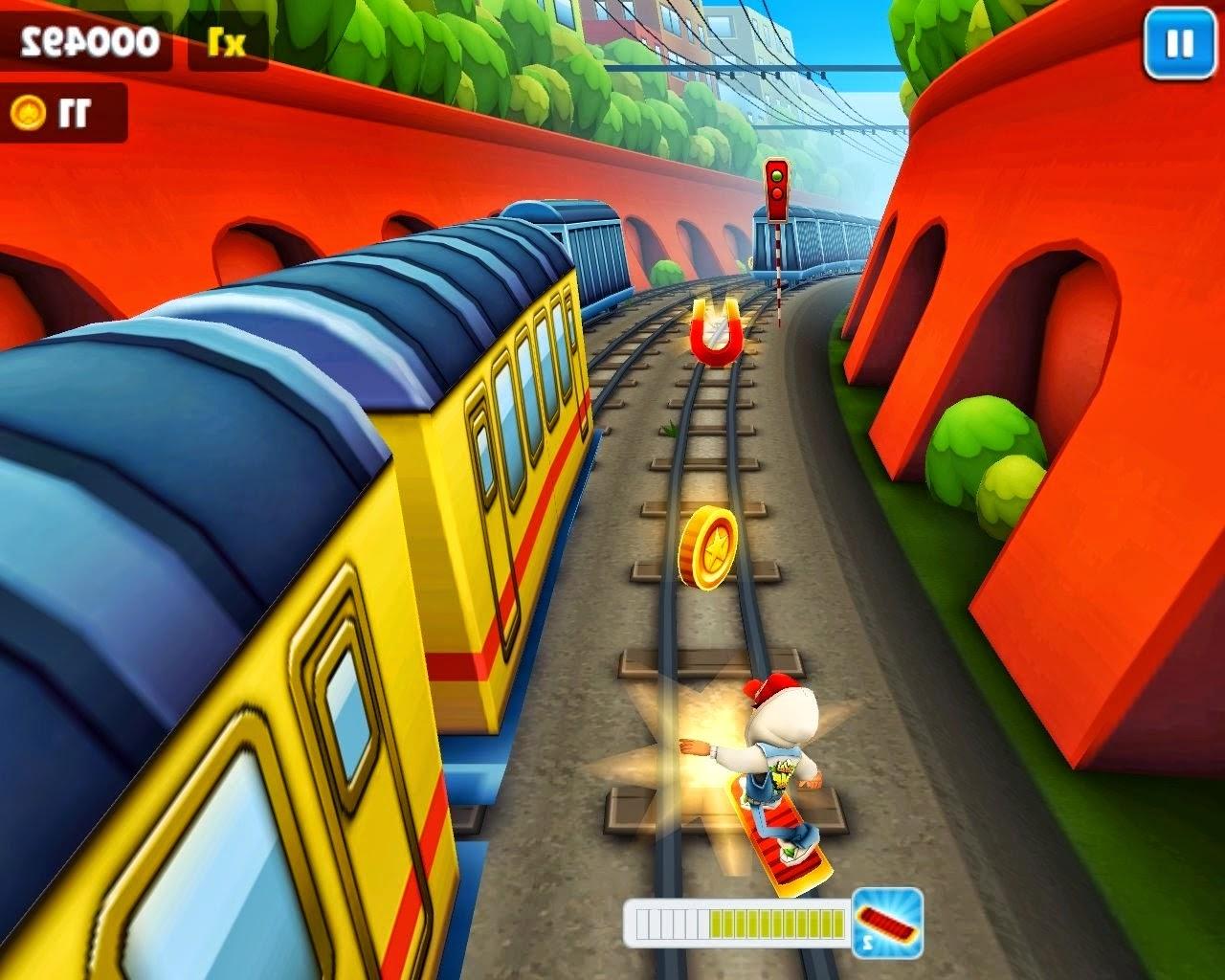 tren oyunundan bir görüntü