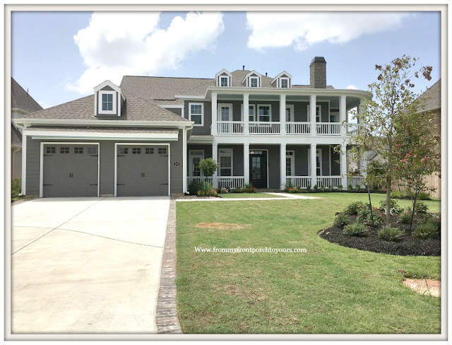 New Construction-Open House-Southern Style-Home-Plantation Style- Wrap Around Porch-From My Front Porch To Yours