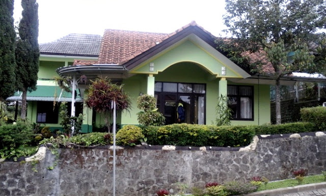 Villa Hijau Panderman Kota Batu 4 Kamar