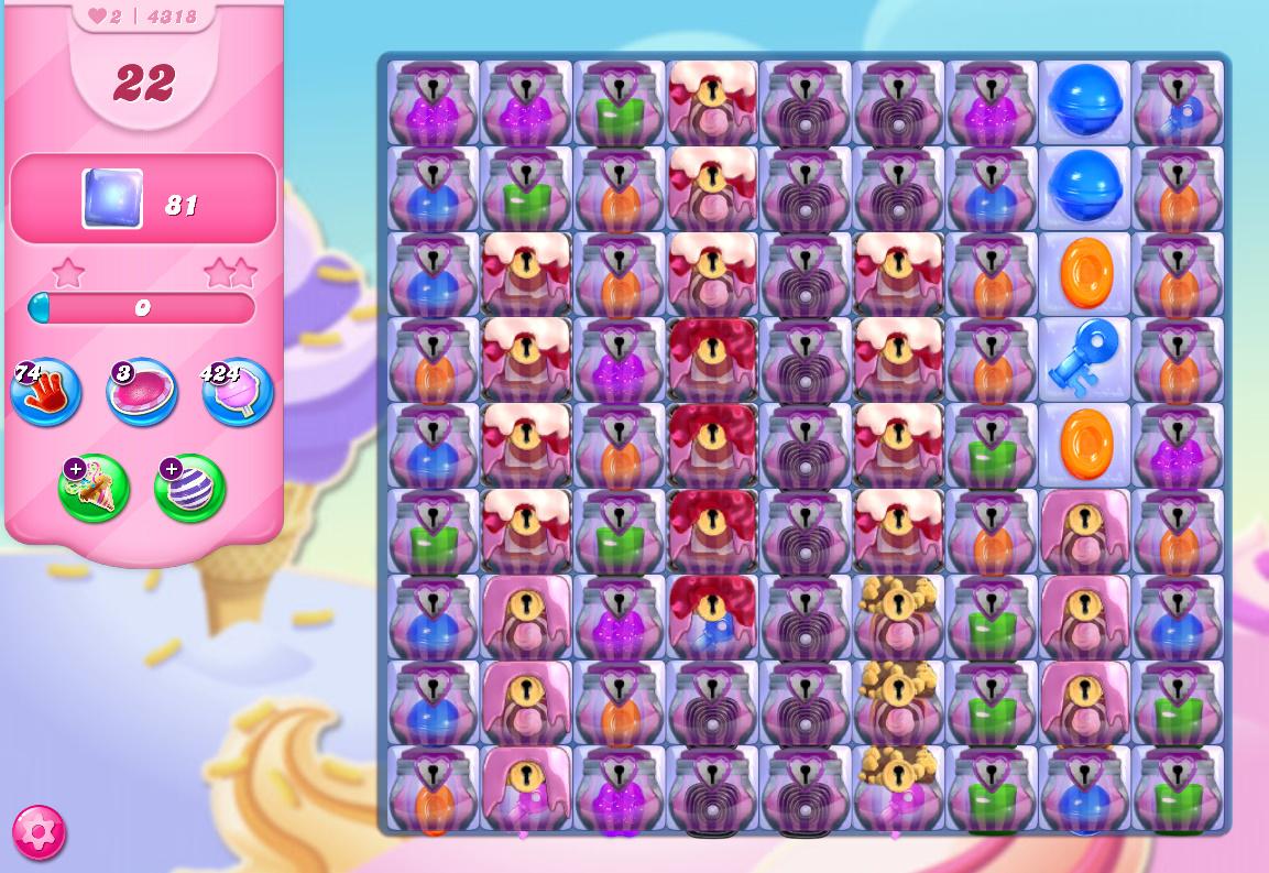 Candy Crush Saga level 4318