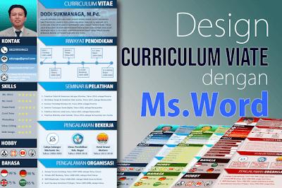 Tutorial Cara Membuat Curriculum Vitae Menggunakan Microsoft Word