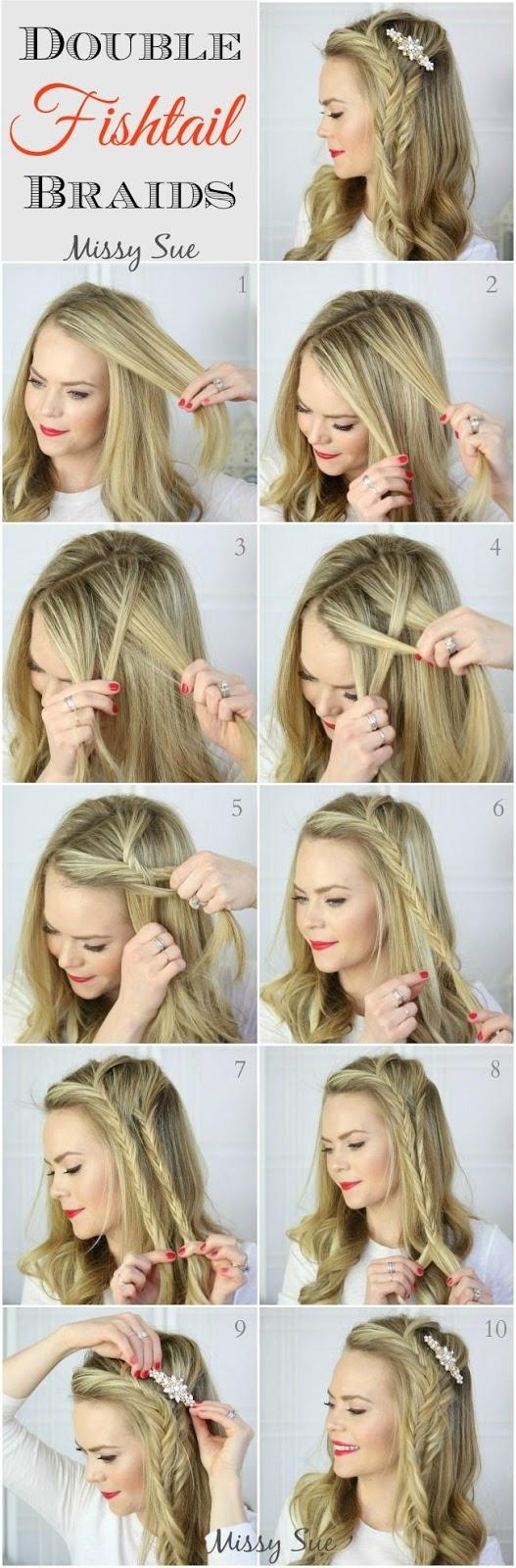 5 Peinados Faciles Con Trenzas Francesas Paso A Paso Peinados Faciles