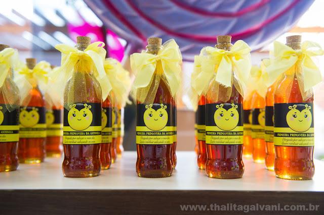 Lembrancinhas Abelhinha mel para Festa Infantil