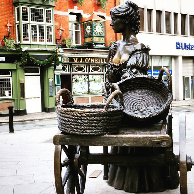 One day in Dublin: Molly Malone statue