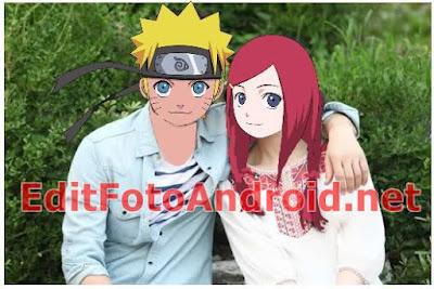 Aplikasi Edit Foto Kepala Anime Naruto Chibi Kartun Keren