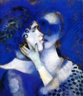 Марк Шагал. Синие любовники. 1914