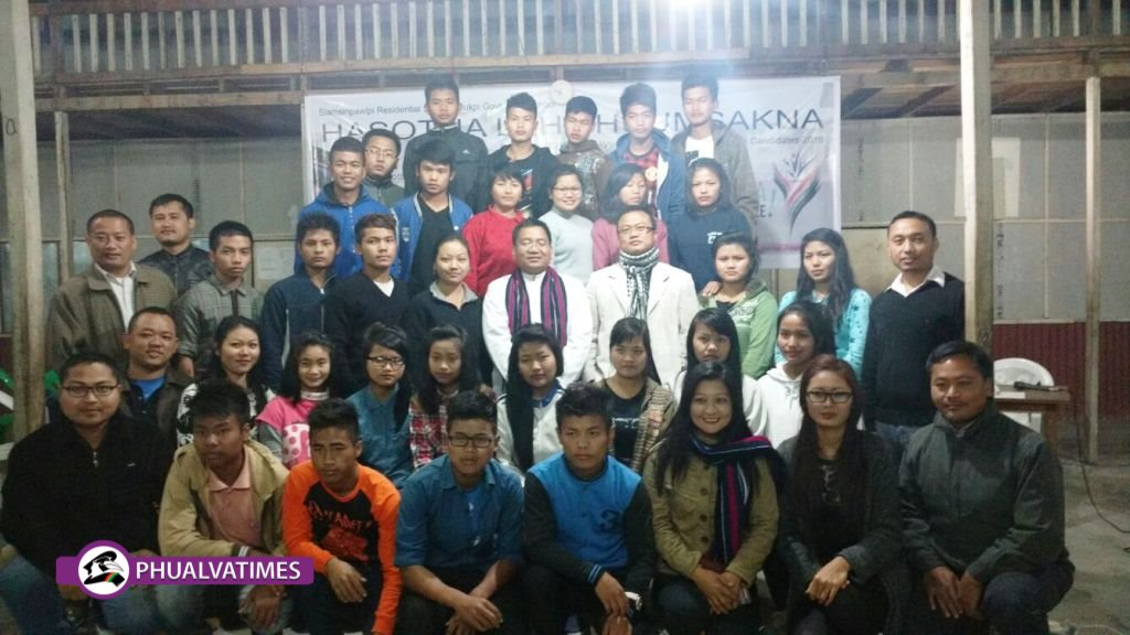Zodawn school-te ah sinlai kibehlap: SSPP RS In Thumsakna Hun Zang