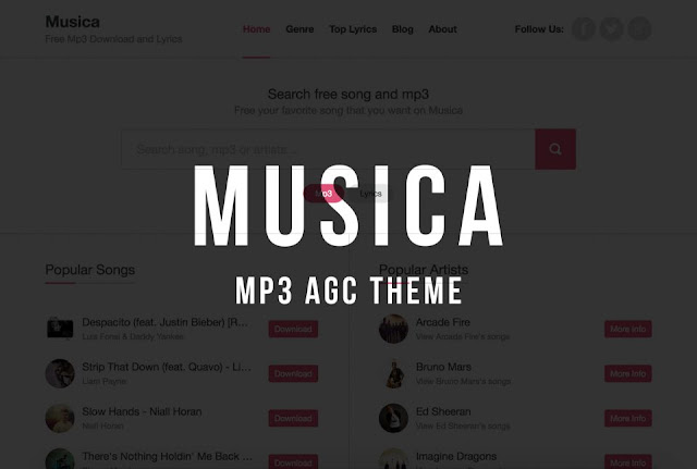 Musica – Mp3 AGC Theme Free Download