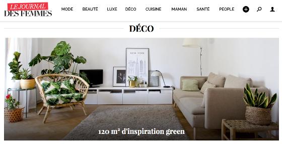 Le Journal des Femmes _ Ilaria Fatone _ inspiration green