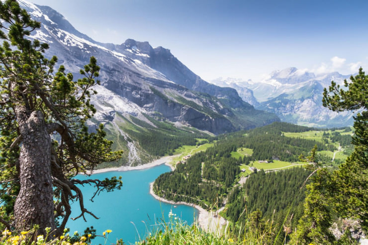 Top 10 Fun Things to See and Do in Switzerland - Visit Oeschinen Lake