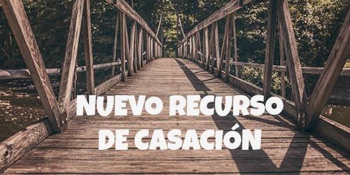 NUEVO RECURSO DE CASACIÓN