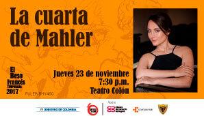 LA CUARTA DE MAHLER - Teatro Colon