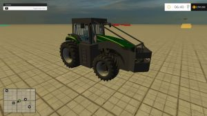 Forestry Case Magnum 435cv tractor