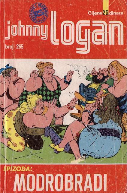 Modrobradi - Johnny Logan