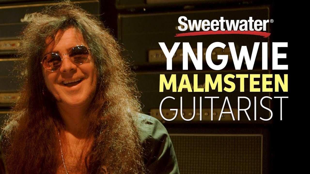 Yngwie Malmsteen talks about how much he practiced guitar as a kid to reach his level
