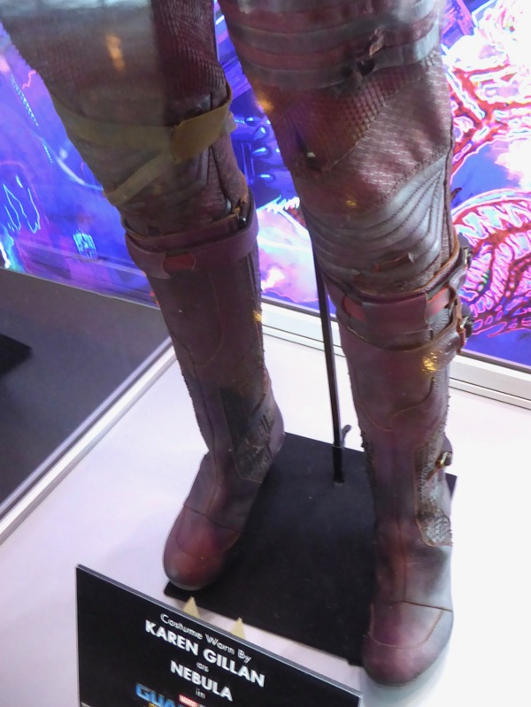 Nebula costume legs Guardians of the Galaxy 2