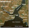 Istanbul, Turkey : The city located in  two continents
