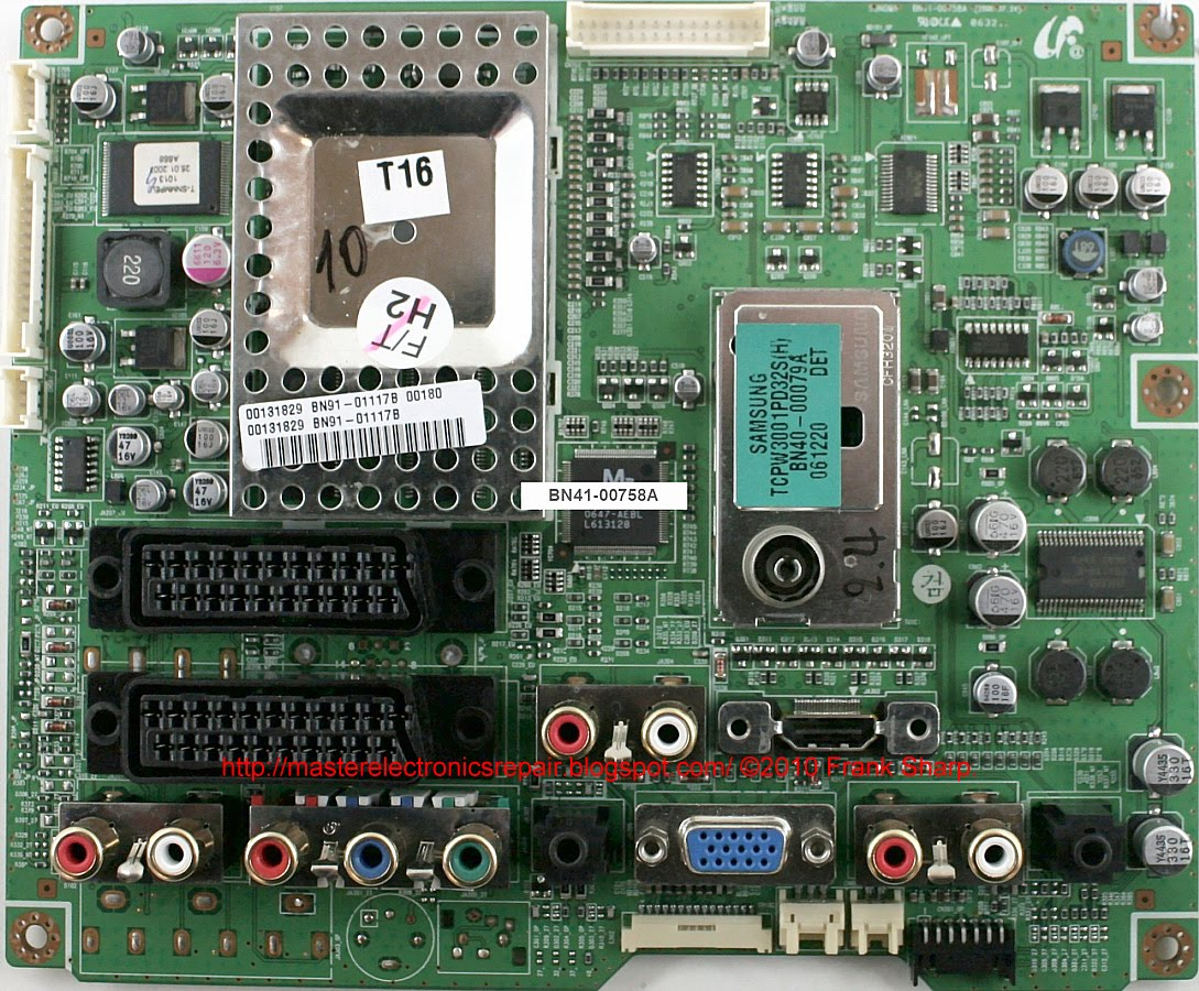 BC71356B Ersatzfernbedienung passend für SAMSUNG LH40PECPLBC Monitor