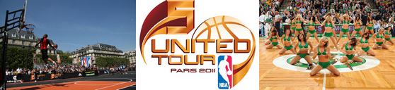 NBA 5 United Tour - Paris 2011