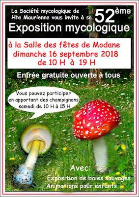 Exposition Mycologique et Botanique Modan Savoie 2018