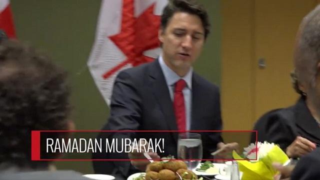 Jadi Viral, Video PM Kanada Sertai Majlis Buka Puasa