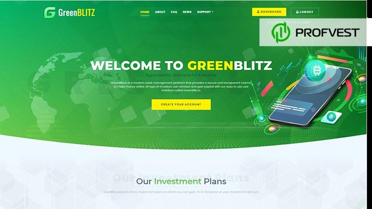 Green Blitz обзор и отзывы HYIP-проекта