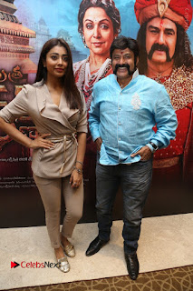 Shriya Saran Nandamuri Balakrishna at Gautamiputra Satakarni Team Press Meet Stills  0106.JPG