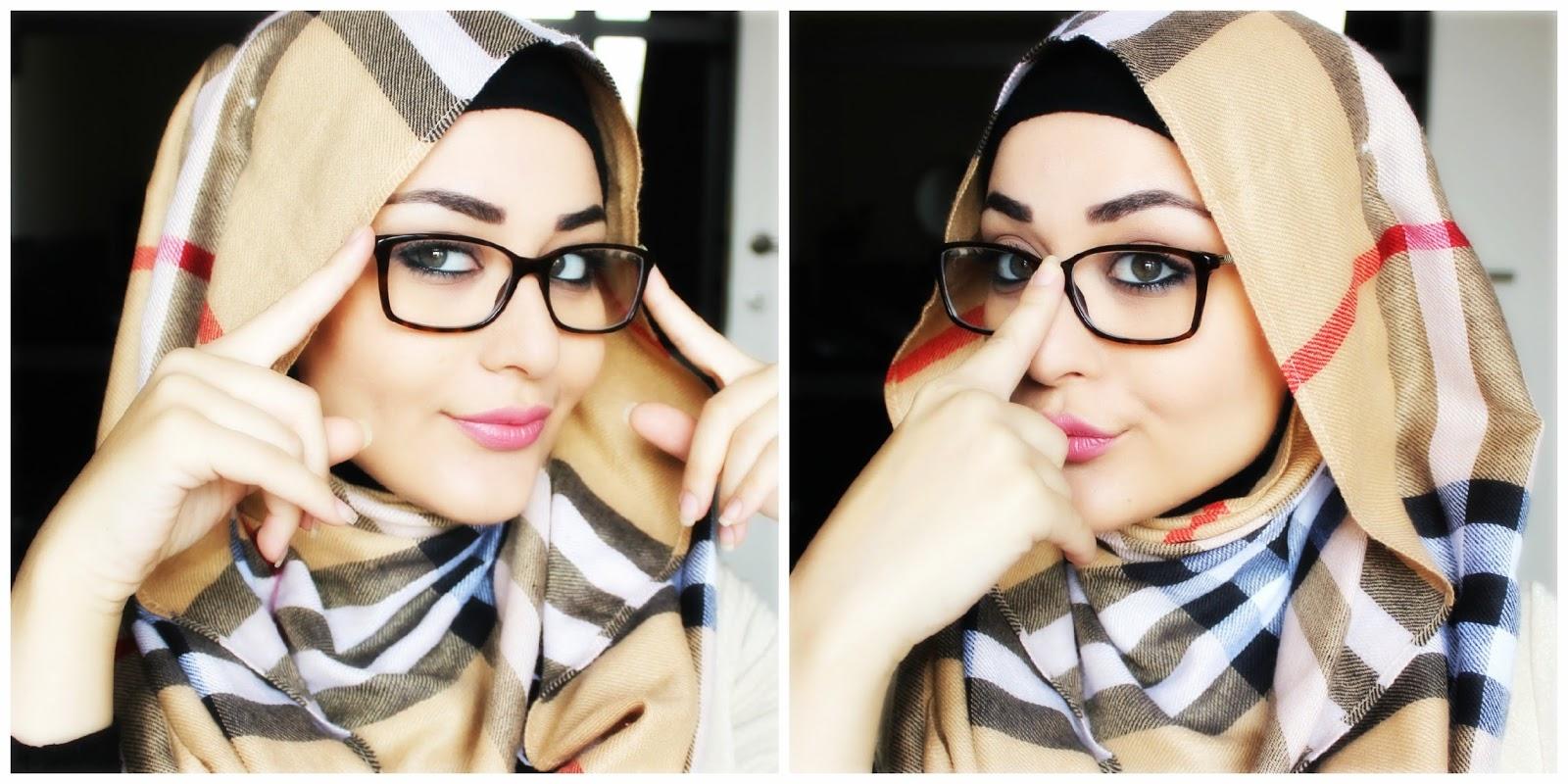 Tutorial Hijab Berkacamata Hijab Muslim