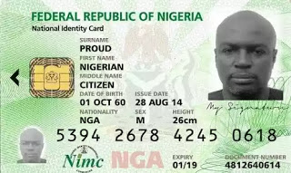 Guidelines  on to use your National Identification Card To Withdarw From Any ATM In Nigeria