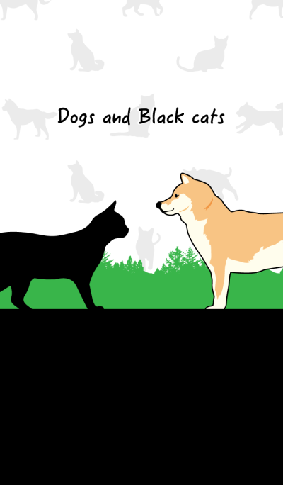 Daily life of dogs and black cats!