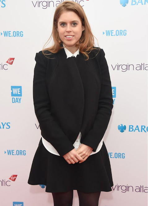 Princess Beatrice of York attends We Day UK 2016 at SSE Arena Wembley on March 9, 2016 in London,
