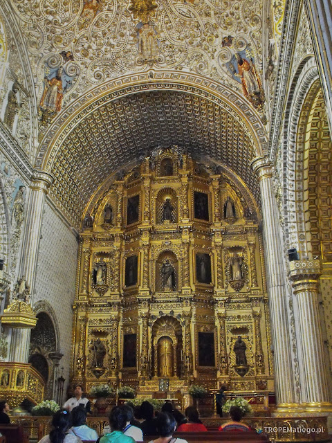 Santo Domingo de Guzmán Church in Oaxaca